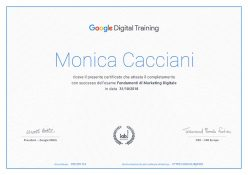 Google Digital Training Certificato 2 e1551960769878