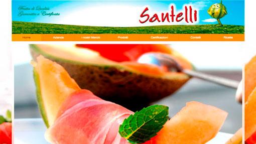 sito azienda agricola Santelli