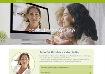 Sito Jennifer Ganda Ostetrica Online